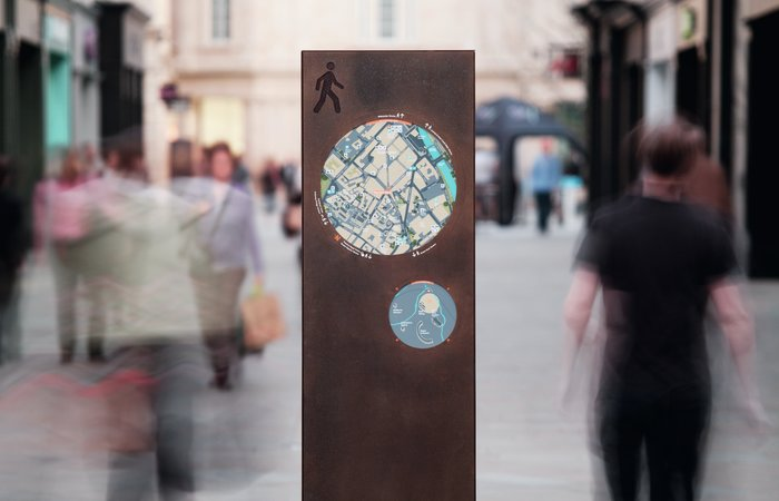 City information system in Bath