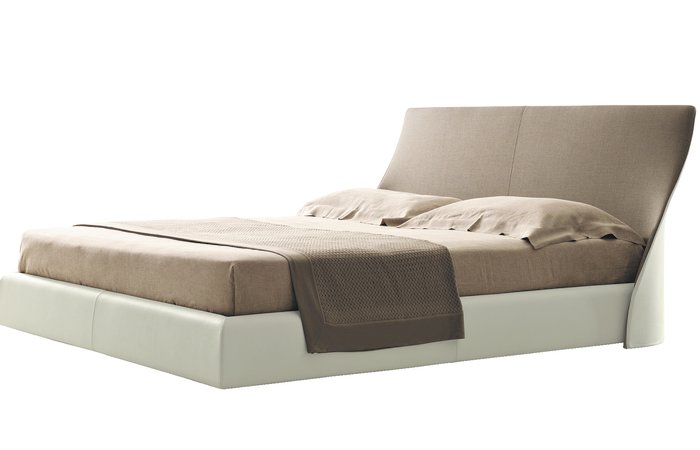 Giorgettis upholstered bed Altea