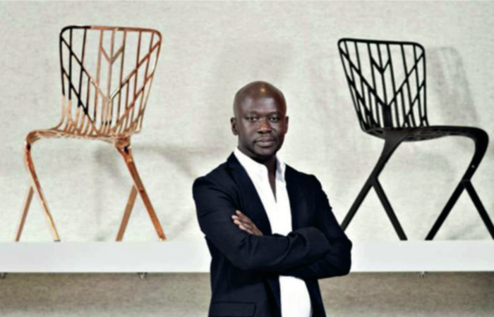 David Adjaye mit dem Washington Skeleton Chair