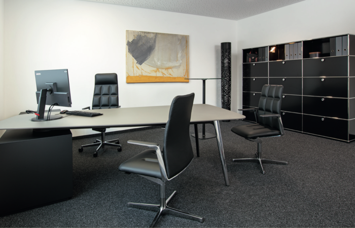 Keypiece Conference Desk, Leadchairs von Walter Knoll