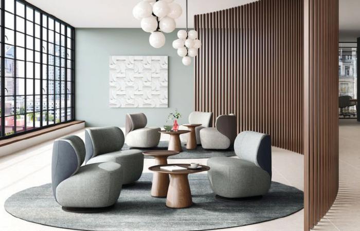 Bao von Walter Knoll lässt Räume warm und behaglich erscheinen